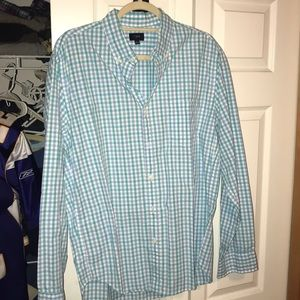 J Crew Men's Casual Button Down Shirt